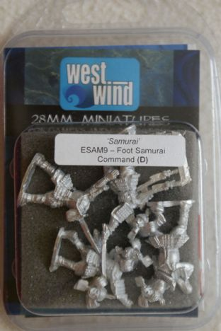 Westwind 28mm ESAM-09 Foot Samurai Command